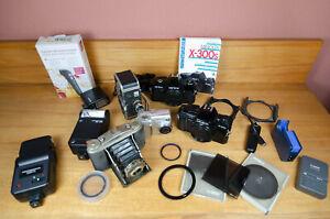 Minolta, Carena,Nikon, Cokin... alles für Bastler, Ungetestet, Dachbodenfund