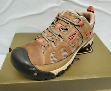 KEEN Outdoor 1018582 Women's Targhee Vent Boots Sandy Leather Hiking Trail Shoes