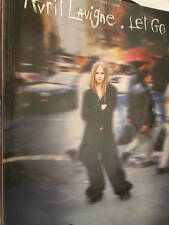 Avril Lavigne Let Go Music Book Piano/Vocal/Guitar