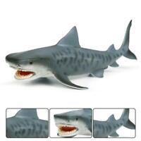 Lifelike Shark Shape Realistic Motion Simulation Animal Toy Model Kids Gifts