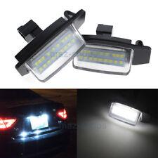 2Pcs LED Number License Plate Light For Mitsubishi Lancer Sportback Outlander