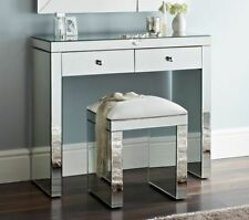 New Mirrored Console Table With 2 Drawers And Hall Table LARGE