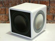 Cambridge Audio Minx X201 White Active Powered Home Cinema Subwoofer Loudspeaker