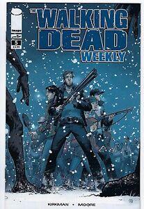 Walking Dead Weekly # 5 Reprint NM+ AMC Zombie Tons of Walking Dead Books