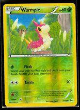 Pokemon WURMPLE 3/108 - XY Roaring Skies - Rev Holo - MINT