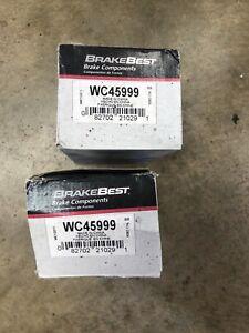 2 New BrakeBest WC45999 Rear Brake Wheel Cylinders Drum GM Chevy Pontiac Olds