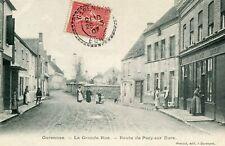 Carte GARENNES SUR EURE La Grande Rue Route de Pacy sur Eure
