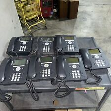 Lot Of 7 Avaya 9608g Ip Business Office Poe Phone Stand And Headset