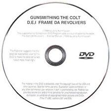 Gunsmithing the Colt D, E, & I Frame Series Revolvers, Jerry Kuhnhausen (DVD)