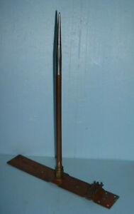 NOS Short Heavy Copper Lightning Rod