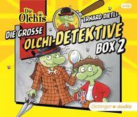 DIE GROßE OLCHI-DETEKTIVE BOX 2 -  ERHARD DIETL   4 CD NEU