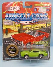 19166 JOHNNY LIGHTNING / MUSCLE CARS REPLICAS  / 1969 OLDS 442 VERT CLAIR 1/64