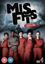 Misfits Complete 2nd Series Dvd Brand New & Factory Sealed