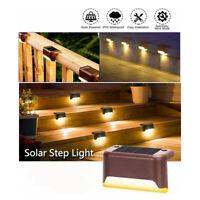 LED lampe de lumière d'énergie solaire chemin extérieur chemin jardin pont la