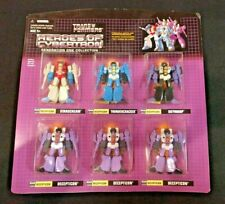 Transformers HEROES OF CYBERTRON Generation One Collection 6 pack 2003 Botcon