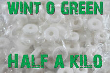 HALF A KILO of WINT O GREEN LIFESAVERS WINTER GREEN BUY IN BULK AND SAVE!