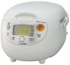 Zojirushi overseas Microcomputer rice cooker cook 5 cup NS-ZLH10-WZ 220-230V New
