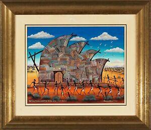 Howard Steer Oil painting Opera House
