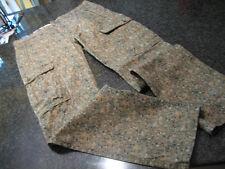 NWT- Mens LEVIS Green CAMO PRINT Cotton Cargo Pants (30 x 30)