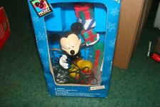 Mr Christmas A Mickey Holiday Tree Topper Centerpiece twirling