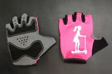 BUY 1 GET 1  SIZE SMALL FREE! Scootergirl Bike Bicycle Gloves Kids Girls