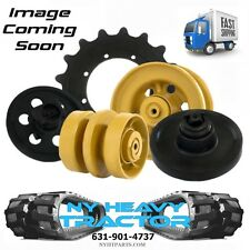FRONT IDLER FITS CAT 302.5 ID134 MINI EXCAVATOR RUBBER TRACK CATERPILLAR