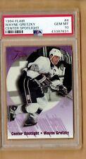 1994-95  Flair  Center Spotlight  Wayne Gretzky  #4    PSA 10