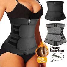 Women Waist Trainer Corset Body Shaper Slimmer Tummy Control Sauna Sweat Belt US