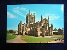 OLD PPC: HEREFORD~THE CATHEDRAL~ANIMATED