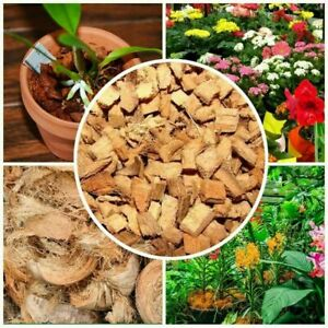 Very Clean Coconut Husk fiber,Chips for Orchids flowers And Other Plants 100g