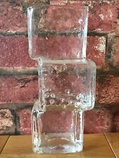"Extremely Rare Whitefriars 8"" Reverse Flint Drunken Bricklayer Vase J Andersson"