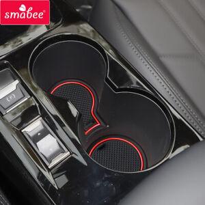 for Peugeot 2008 e-2008 GT Line 2020 Anti-Slip Gate Slot Cup Mat Car Accessories
