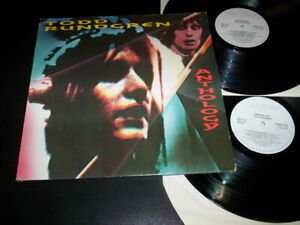 "Todd Rundgren ""Anthology"" 2LP g/f  Raw Power – RAWLP 035 Uk 1987"