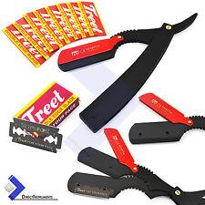 Men Folding Razor Shaver Straight Vintage Knife Beard Styling Hair Dressing Kit