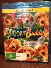 Sealed Disney SPOOKY BUDDIES Blu-ray & DVD Set Region 4 AUS Release *FREE POST*