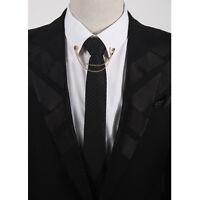 Lapel Pins Fashion Women Men Tassel Brooches Brooch Mask Tassel Chain Brooch