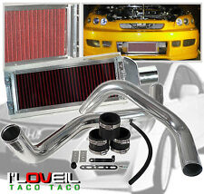 98-02 HONDA ACCORD L4 FRONT MOUNT INTERCOOLER FILTER COLD AIR INTAKE SYSTEM