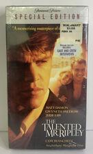The Talented Mr. Ripley (Vhs 2001 Special Edition) Jude Law, Matt Damon - New