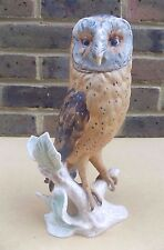 Vintage GOEBEL CV112 Large Barn Owl Figurine TMK 5 - 9 Inches