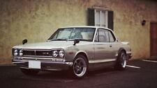 "092 GTR - Nissan Vintage Skyline Super Car Racing Car concept 42""x24"" Poster"