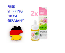 2x ALVERDE Natural Cosmetics Facial Oil With Wild Rose | Vegan | 15 ml, Germany