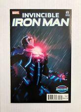 Invincible Iron Man #9 VARIANT 1st Appearance Riri Williams Marvel Unread  PM