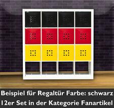 1Tür Würfel Regal Flexi Ikea Expedit Kallax Ergänzung Einsatz mit+Lekman-schwarz