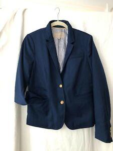 BANANA REPUBLIC  Blazer Women's NAVY BLUE Jacket Sz 8