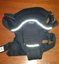Chicco You And Me Deluxe Baby Carrier With Back Support Black Reflective