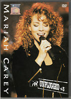 MARIAH CAREY MTV Unplugged +3 2006 MALAYSIA Edition DVD RARE NEW FREE SHIPMENT
