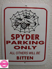 CAN-AM SPYDER RS - WEB METAL PARKING SIGN