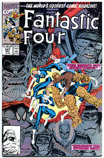 FANTASTIC FOUR #347, NM+, Hulk , Wolvine, Spider-man, more in store