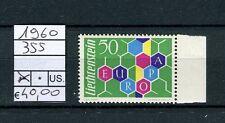 Liechtenstein 1960 Francobollo Europa bordo di foglio MNH