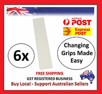 6 x Pre-Cut GOLF CLUB Driver Iron GRIP TAPES STRIP Double Sided Change Regrip